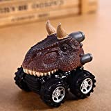 USHOT Sports & Outdoor Play Toys, Children's Day Gift Toy Dinosaur Model Mini Toy Car Back The Car Gift