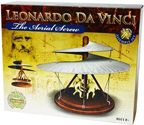 S.T.E.A.M. Line Toys Elenco Leonardo da Vinci Edu-Science - Aerial Screw Assemble Set by S.T.E.A.M. Line Toys