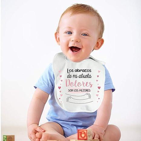 Regalo personalizado para un bebé: babero para niño o niña ...