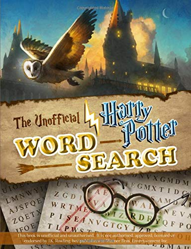 Pdf Humor The Unofficial Harry Potter Word Search: Fun & magical Harry Potter inspired word search puzzles for Potter fans of all ages.