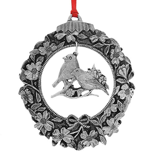 Wendell August Eastern Bluebird Dangling Ornament (Pewter Ornament Snowman)