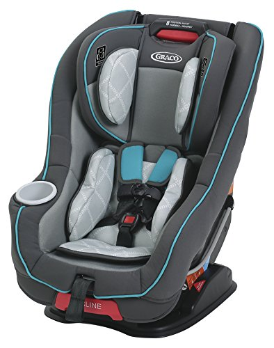 Graco Size4Me 65 Convertible Car Seat featuring RapidRemove – Finch