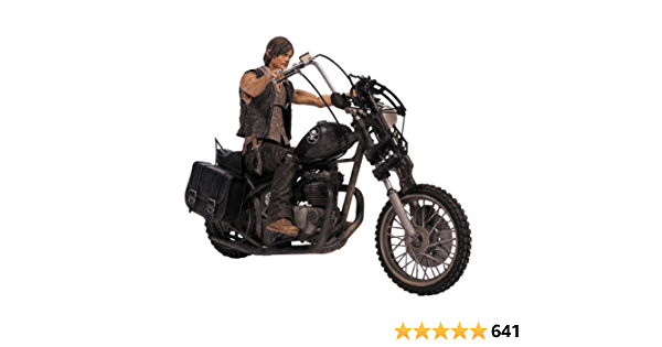 McFarlane Toys The Walking Dead Series 5 Daryl Dixon With Chopper MIB 2014 for sale online