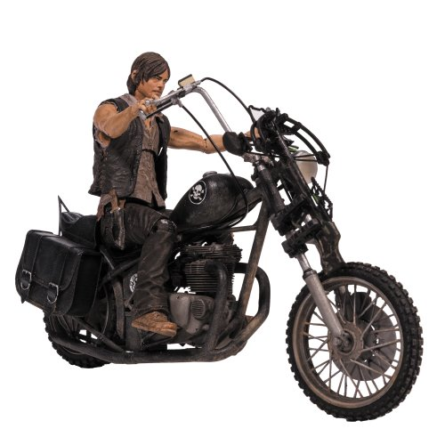 Box Set Mcfarlane Toys - McFarlane Toys The Walking Dead TV Deluxe Box Set (Daryl Dixon with Chopper)