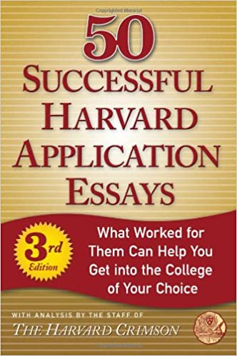 harvard college application essay