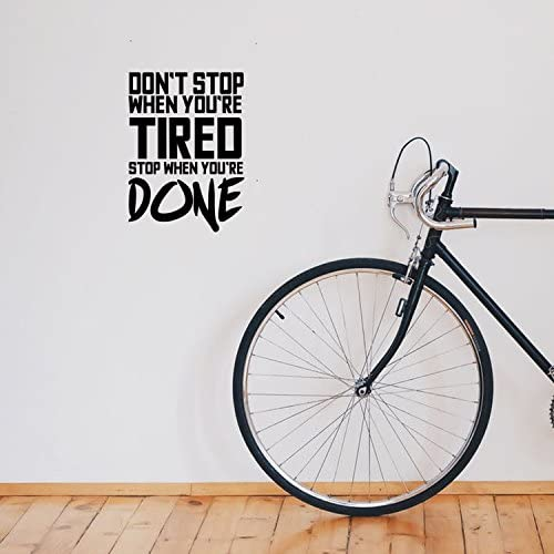 Dont Stop When Youre Tired