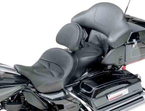 Saddlemen Explorer G-Tech Seat W/Backrest Black FXD 06-11