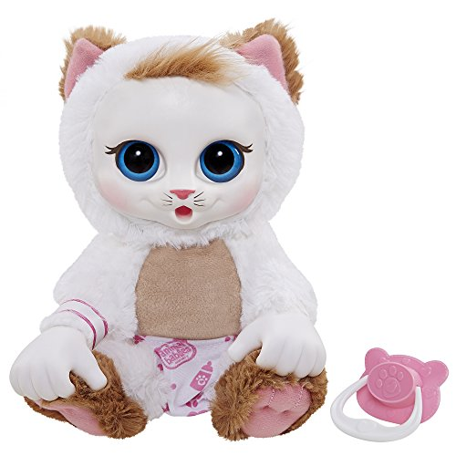 Animal Babies Baby Persian Kitten Plush