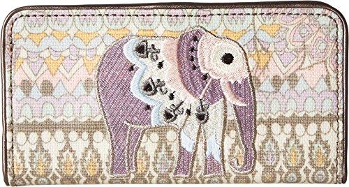 Sakroots Women's Artist Circle Slim Wallet Pastel One World One Size (World Best Wallet Brand)