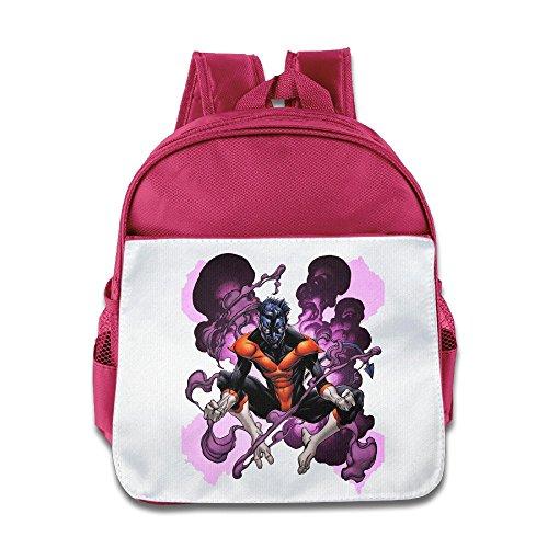 Price comparison product image Jade Custom Superb Cartoon Poster Kids Children School Bagpack Bag For 1-6 Years Old Pink