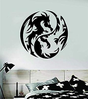Long Xian Yang etiqueta de la pared pegatina vinilo arte ...