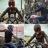 YnGia Motorcycle Helmet Light led Helmet Sticker EL Strip
