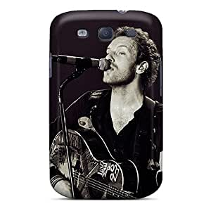 Durable Case For The Galaxy S3- Eco-friendly Retail Packaging(coldpaly Chris Martin)