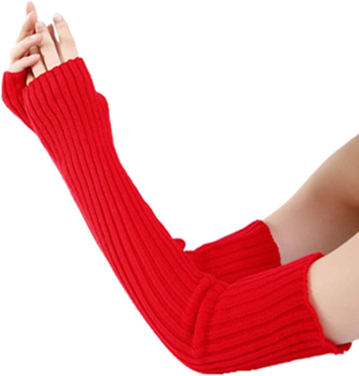 Women Lady Super Long Knit...