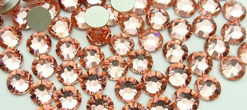 Swarovski Crystals Cristal Rose Peach (262) faux diamant Nail Art- 2.2Mm (Ss7) 60 Pieces Swarovski Element