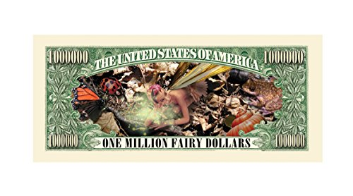 Set of 1000 - Fairies Million Dollar Bill by American Art Classics (Image #2)