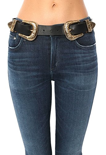 B-Low The Belt Women's Bri Bri Belt, Black/Gold, Small