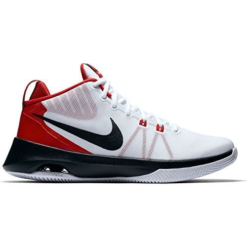 Nike Hommes Air Polyvalent Blanc / Noir-université Rouge 852431-102