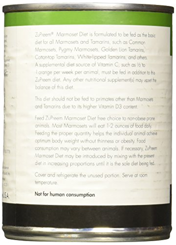 Image of ZuPreem Marmoset Diet Food, 14.5 oz/Pack, 24 Can-Pack