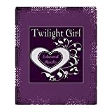 CafePress - Twilight Girl (Edward) Throw Blanket - Soft Fleece Throw Blanket, 50''x60'' Stadium Blanket