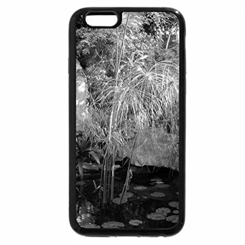 iPhone 6S Plus Case, iPhone 6 Plus Case (Black & White) - A perfect day at Edmonton garden 05