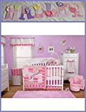 Girls Winnie The Pooh Baby Crib Bedding Inspired Wooden Letters