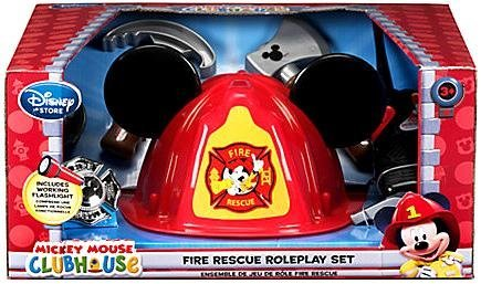 Disney Exclusive Mickey Mouse Clubhouse Playset Mickey Mouse Fire Rescue Roleplay Set