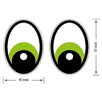 Augen Grün Saugroboteraufkleberstaubsauger Roboterstickereyestickersyeux Rasenmäher Mähroboter