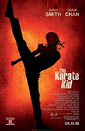 The Karate Kid Poster Movie Double Sided 11x17 Jaden Smith J