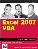 Excel 2007 VBA Programmer's Reference, John Green and Michael Alexander, 0470046430