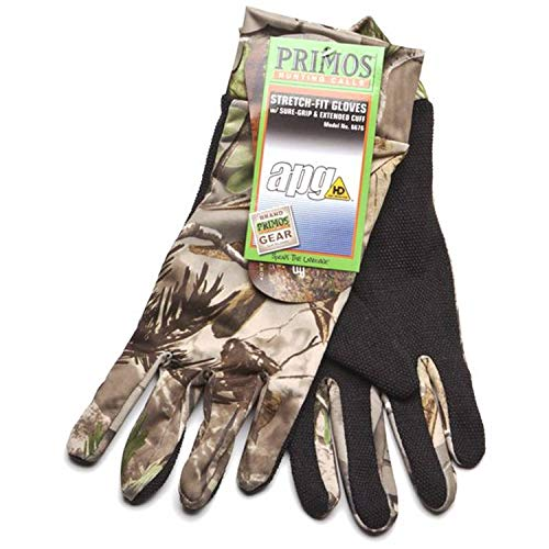 Primos Stretch-Fit Gloves Realtree