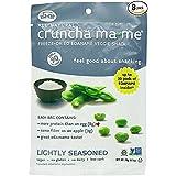 Eda-Zen Cruncha ma-me Edamame Veggie Snack, Lightly Seasoned, 0.7 Ounce (Pack of 8)