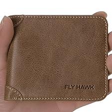 RFID Blocking Genuine Leather Wellets for Men clip wallet Slim&Mini Bifold Handmade of wallet