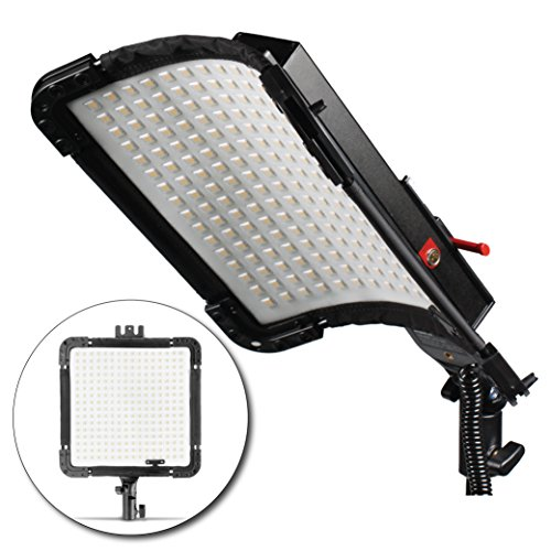 Kamerar BrightCast LED Panel with AC Adapter: Water Resis...