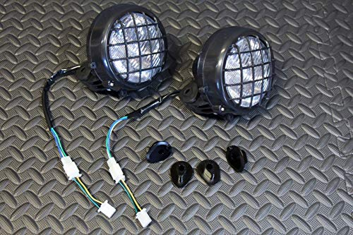 Banshee Light - Vito's Performance 2 x New Headlights Yamaha Banshee Lens Bulbs Lights Grills 1996-2001 + Collars