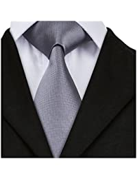 Solid Colors Woven Ties for Men Formal