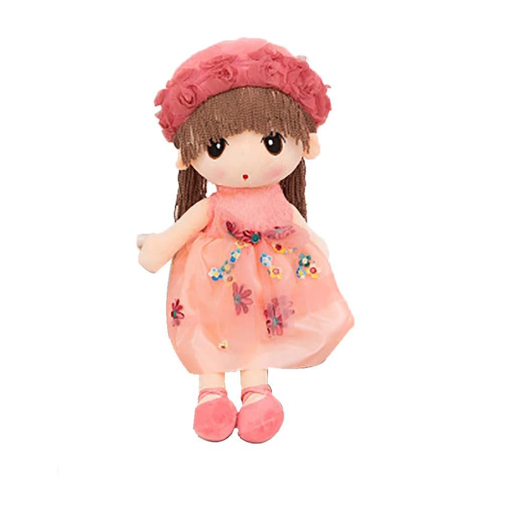 65cm Vignoble Peluche Jouet feier Mignon poupée Fleur fée Enfant poupée Cadeau d'anniversaire Fille poupée Mignonne (Rose) (Taille   65cm)