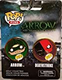 Funko Pop! Pins 2-pack Arrow and Deathstroke