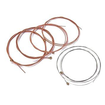 Artibetter - Cuerdas para guitarra acústica (6 unidades, para ...
