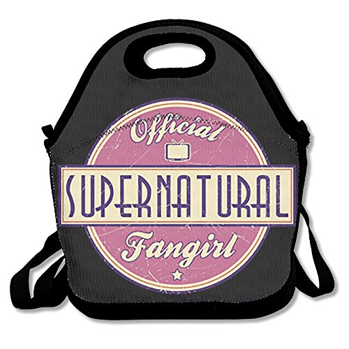 [PPAP3 Customized Supernatural Lunch Tote Bag With Adjustable Straps] (Demonic Masks)