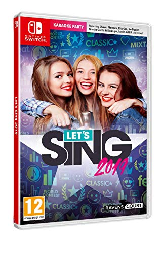 Let's Sing 2019 + 1 Microphone (Nintendo Switch) 1