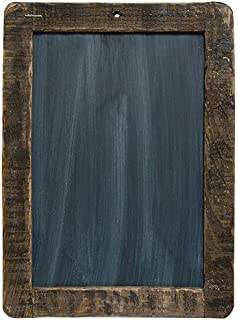 cwi gifts large distressed slate blackboard with stained wooden frame 85 x 125inches