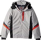 Obermeyer Kids  Boy's Fleet Jacket (Little Kids/Big Kids) Overcast X-Small