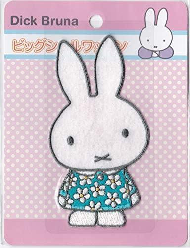 稲垣服飾 ミッフィー ビックワッペン シールアイロン接着 両用 MFX001