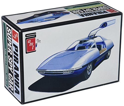 (AMT Piranha CRV Super Spy Car, 1:25 Scale Model Car Kit, AMT900)