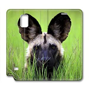Cut Dog Pet Leather Cover for Samsung Galaxy Note 4 by Cases & Mousepads WANGJING JINDA