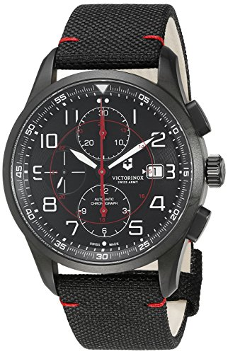 Victorinox-Mens-AirBoss-Swiss-Automatic-Stainless-Steel-and-Nylon-Casual-Watch-ColorBlack-Model-241721