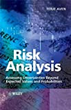 Risk Analysis, Terje Aven, 0470517360
