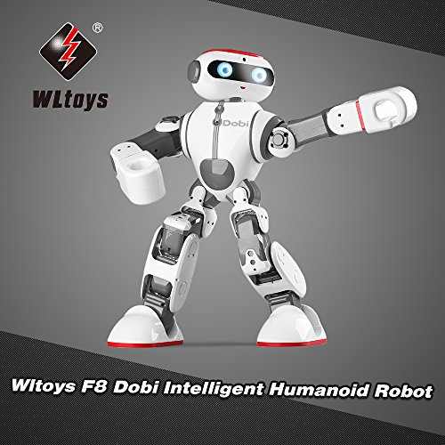 WLtoys Goolsky F8 Dobi Intelligent Humanoid Robot Voice/APP Control Toy with Dance Yoga Storytelling for Children Gifts by WLtoys (Image #8)