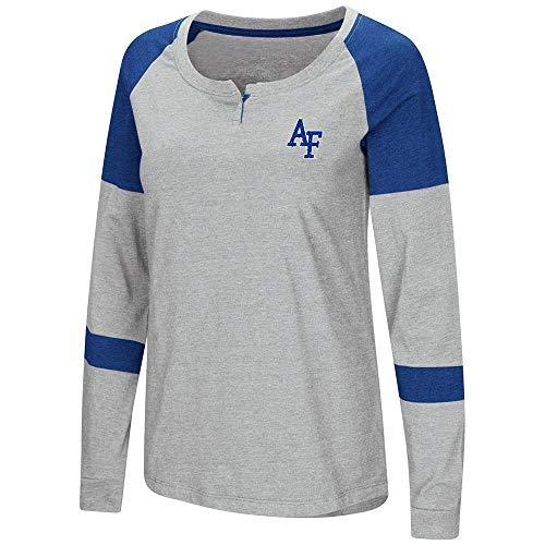 - Colosseum Womens Air Force Falcons Long Sleeve Raglan Tee Shirt - S